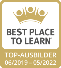 Best Place to Learn – Top-Ausbilder 06/2019 - 05/2022